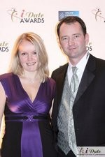 Mark and Irena Brooks at the 2010 iDateAwards Ceremony in Miami