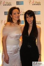 Ravit Ableman and Julie Spira at the 2010 Internet Dating Industry Awards Ceremony in Miami