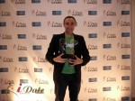 Sam Yagan - OKCupid.com won 3 iDateAwards  for 2012 at the 2012 iDate Awards Ceremony