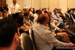 Audience and Beer at the Final Panel  at the 2012 Internet and Mobile Dating Industry Conference in L.A.