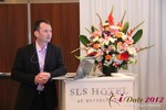 Mark Brooks (CEO of Courtland Brooks) at the June 20-22, 2012 L.A. Internet and Mobile Dating Industry Conference