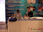Exhibit Hall at the June 20-22, 2012 L.A. Online and Mobile Dating Industry Conference