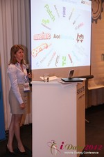 Amanda Mills (Director of Product at AOL Mobile) at the June 20-22, 2012 Mobile Dating Industry Conference in L.A.