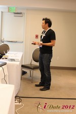 Andy Kim (CEO of Mingle)  at the June 20-22, 2012 L.A. Internet and Mobile Dating Industry Conference