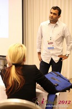 Dwipal Desai (CEO of TheIceBreak.com) covers monetization during a relationship at the June 20-22, 2012 L.A. Internet and Mobile Dating Industry Conference