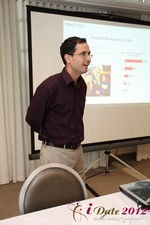 Geoff Cook (COO of MeetMe) at the 2012 Internet and Mobile Dating Industry Conference in L.A.