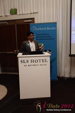 Santanu Basu (Sr Product Manager at Bing) at the 2012 Internet and Mobile Dating Industry Conference in L.A.