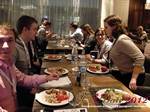 Lunch at the October 25-26, 2012 Mobile and Internet Dating Industry Conference in Moscow