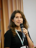Tanya Fathers (CEO of Dating Factory) at the 2013 Koln European Mobile and Internet Dating Summit and Convention