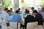 Lunch at iDate2013 Koln