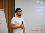 Miguel Espinoza (Developer @ PHPFox) at iDate2013 Koln