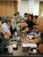 Speed Networking at the 10th Annual European iDate Mobile Dating Business Executive Convention and Trade Show