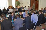Speed Networking among Dating Industry Executives  at the September 7-9, 2014 Mobile and Internet Dating Industry Conference in Germany