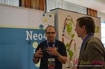 Exhibit Hall, Neo4J Sponsor  at iDate2014 Koln
