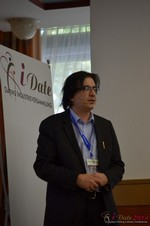 Francesco Nuzzolo, France Manager for Dating Factory  at the 11th Annual European Union iDate Mobile Dating Business Executive Convention and Trade Show