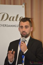 Matthew Banas, CEO of NetDatingAssistant  at the 11th Annual European Union iDate Mobile Dating Business Executive Convention and Trade Show