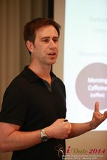 Author Neal Cabage Of The Smarter Startup at the June 4-6, 2014 Beverly Hills Internet and Mobile Dating Industry Conference