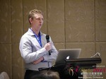 Daniel Haigh - COO of Oasis at the 2015 Asia Online Dating Industry Conference in China