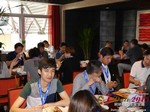 Lunch at the 41st International China & Asia iDate Mobile Dating Business Executive Convention and Trade Show