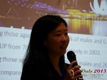 Violet Lim - CEO of Lunch Actually at the 2015 China China & Asia Mobile and Internet Dating Expo and Convention