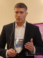Hristo Zlatarsky CEO Elitebook.bg With Insights On The Bulgarian Mobile And Online Dating Market at the Euro iDate conference and expo for matchmakers and online dating professionals in 2015