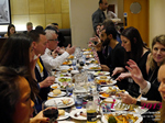 Lunch Among European And Global Dating Industry Executives   at the 12th Annual Euro iDate Mobile Dating Business Executive Convention and Trade Show