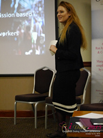 Megan Buquen CEO Matchmakers Circle  at the 2015 iDate Mobile, Online Dating and Matchmaking conference in London
