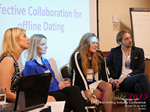 Panel On Effective Collaboration For Offline Dating At at the 12th annual U.K. & E.U. iDate conference matchmakers and online dating professionals in London