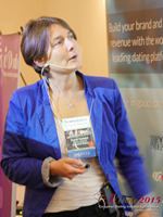 Pauline Tourneur General Manager Of Attractive World Speaking On The French Online And Mobile Dating Market at the October 14-16, 2015 London Euro Online and Mobile Dating Industry Conference