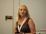Krystina Trushnya - Publisher of Ukranian Dating Blog at the 45th P.I.D. Business Conference in Cyprus