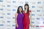 Damona Hoffman and Julie Spira   at the seventh annual iDate Awards Ceremony