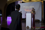 Svetlana Mukha Presenting the Best Up & Coming Dating Site Award at the 7th annual iDate Awards Ceremony