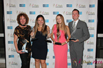 Winners of the Idate Awards  at the 2016 Internet Dating Industry Awards Ceremony in Miami
