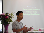 Monty Suwannukul (Product designer at Grindr)  at the 38th iDate Mobile Dating Business Trade Show