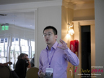 Shang Hsui Koo(CFO, Jiayuan)  at the iDate Mobile Dating Business Executive Convention and Trade Show