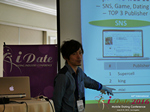 Takuya Iwamoto (Diverse-yyc-co-jp)  at the 2016 L.A. Mobile Dating Summit and Convention
