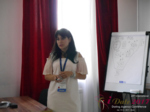 Elena Vygnanyuk at the iDate P.I.D. Business Executive Convention and Trade Show