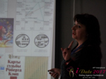 Irina Matulkova at the 49th iDate International Romance Business Trade Show