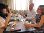 Lunch at the July 19-21, 2017 Premium International Dating Business Conference in Belarus
