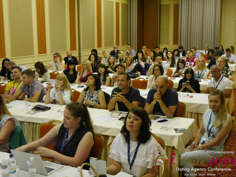 The Audience at the 2018 Dating Agency & PID Negócio Conference in Odessa